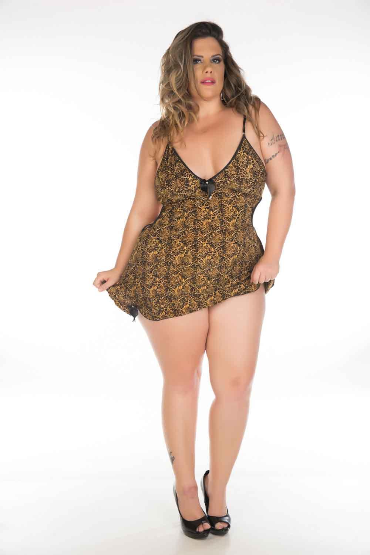 Modelo Plus Size Aline Valente