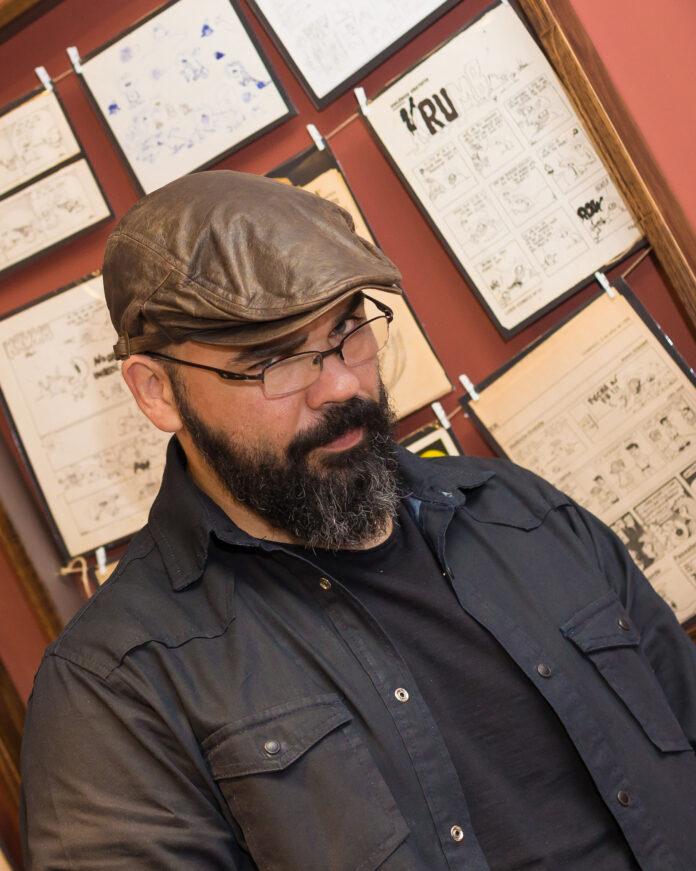 Orlandeli compartilha processo de criação de álbum em quadrinhos no Sesc Rio Preto