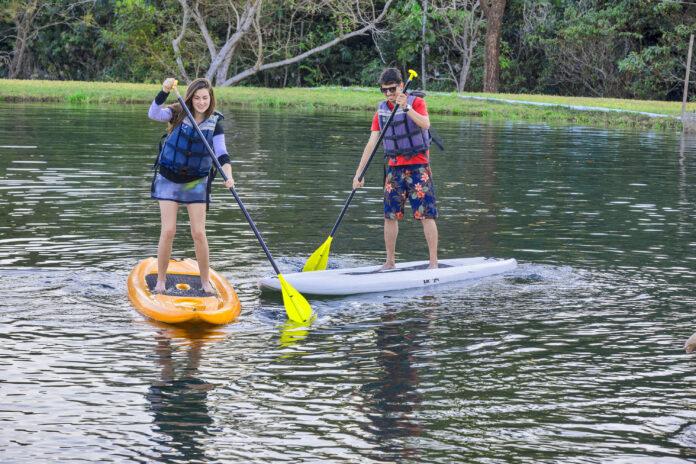 Conheça o Brotas Eco Turismo, pet friendly, o resort tem parque aquático e agenda de atividades