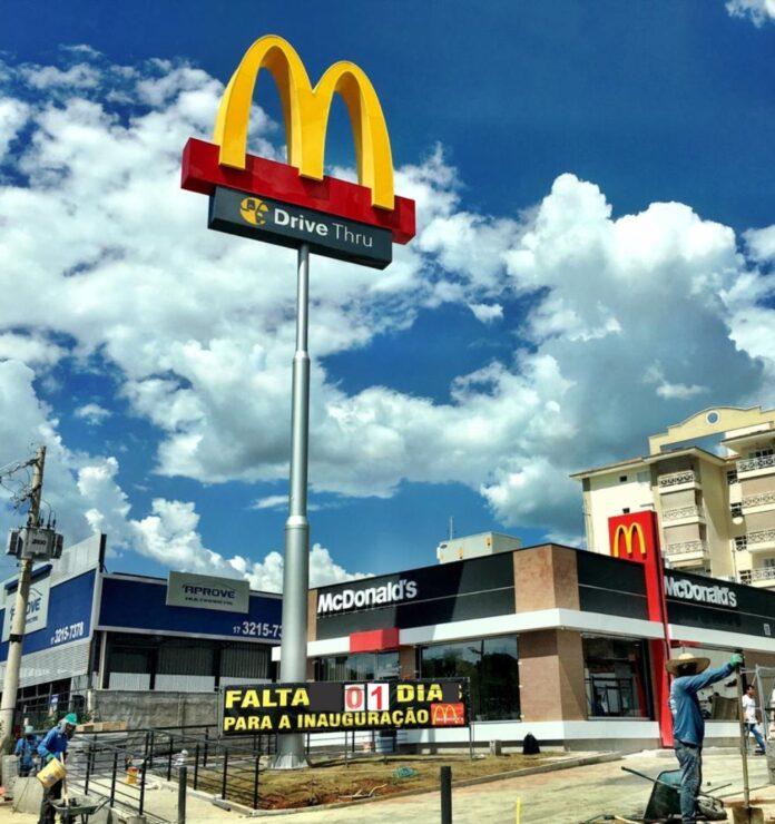 McDonald's reinaugura restaurante com novidades